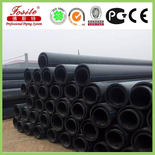 Large Diameter Plastic Polyethylene Pipe Price Polyethylene Pipe for Water Supply