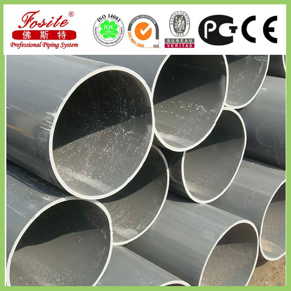 grey upvc pipe