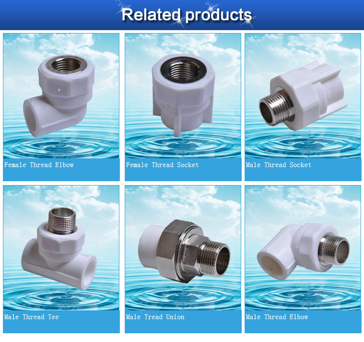 China Selling Ppr Pipes And Fittings Manufacture Ppr Pipe
