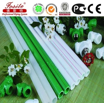 China Factory Hot Water Supply Ppr Pipes And Fittings For health