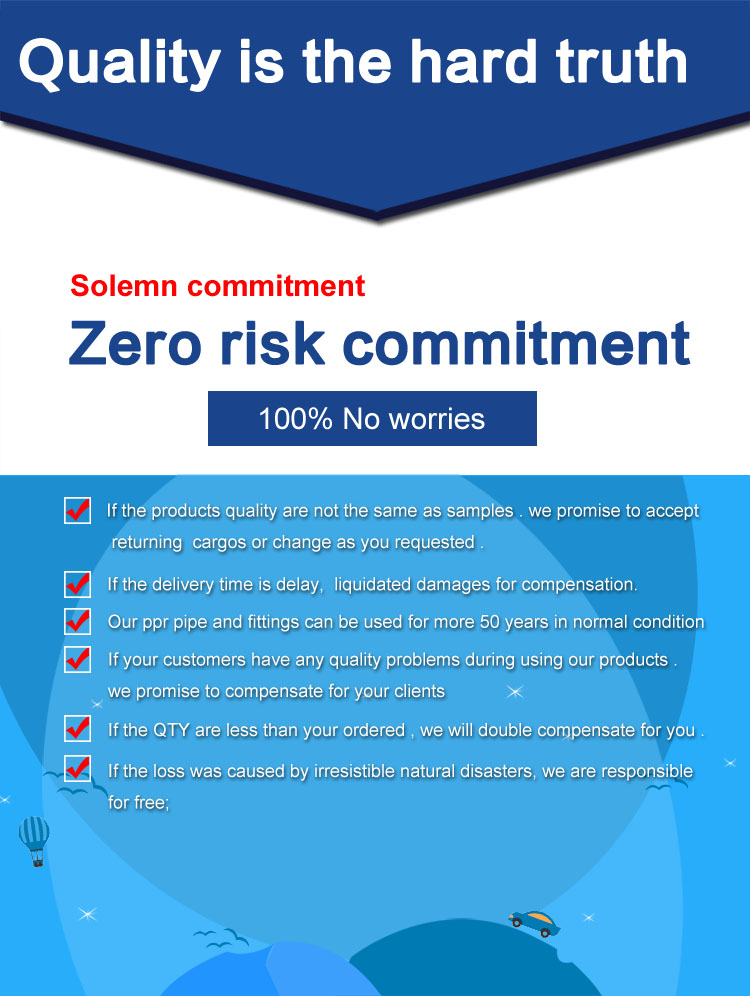 Zero risk commitment1