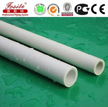 25mm white / green ppr pipe...
