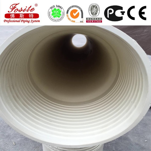 Chinese manufacture slot water well pvc pipe